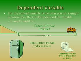 Independent Variable In Science
